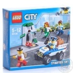 Конструктор Lego Поліція: стартовий набір 60136