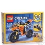 Конструктор Lego Уличный мотоцикл 31059 шт