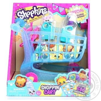 Набір iгровий Shopkins S3 - ВІЗОЧОК (2 шопкінси, 2 сумочки) 56064
