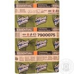 Selpak Professional Paper towels one-layer 250 sheets - buy, prices for Metro - image 1