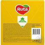 Серветки РУТА 33х33  3-х шарова 20л ЖОВТА (15 ш/к) - купити, ціни на МегаМаркет - фото 2