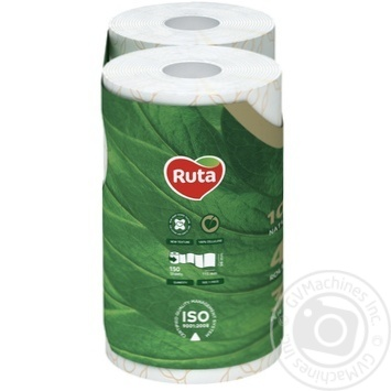 Toilet paper Ruta Selecta white with chamomile aroma 3-ply 4pcs - buy, prices for Novus - image 2