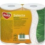 Toilet paper Ruta Selecta white with chamomile aroma 3-ply 4pcs - buy, prices for Novus - image 3