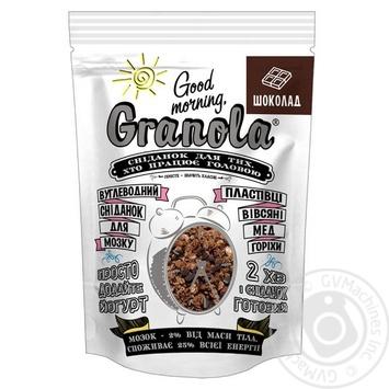 Сухой завтрак Good morning Granola шоколад 330г - купить, цены на Novus - фото 1