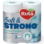 Ruta Paper towels 2pcs - buy, prices for Metro - image 1
