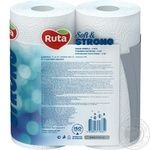 Ruta Soft&Strong White Paper Towels 3layer 2pcs - buy, prices for MegaMarket - image 4