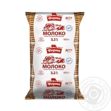 UHT milk Ferma 3.2% 900g - buy, prices for Novus - image 1