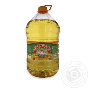 Олія Королівський смак соняшника рафінована 8740г Україна