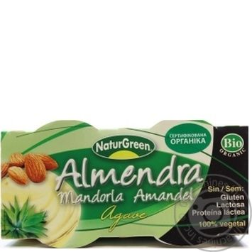 Dessert Naturgreen vegetable with almonds chilled 250g - buy, prices for MegaMarket - image 1