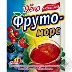 Напиток Деко Фруто Морс лесная ягода сухой 10г