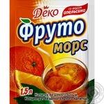 Напиток сухой Деко Фруто морс апельсин 10г