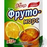 Напиток Деко Фруто Морс лимон сухой 10г