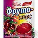 Напиток сухой Деко Фруто морс клюква 10г