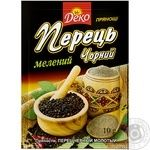 Spices black pepper Deko ground 10g