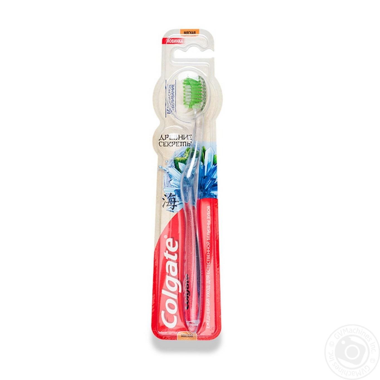 Зубна щітка Colgate Стародавні секрети Безпечне відбілювання м яка ... 7c79ed0d45a35