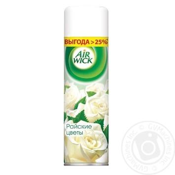 Аэрозольный освежитель воздуха Air Wick Max Райские цветы 500мл