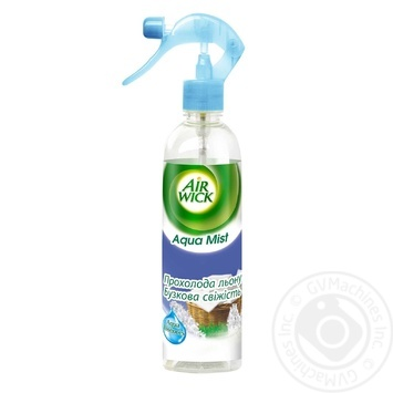 Ароматизатор повітря Air Wick Aqua Mist Прохолода льону і Свіжість бузку 345мл