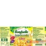 Кукуруза Bonduelle Gold сладкая 170г - купить, цены на Novus - фото 2
