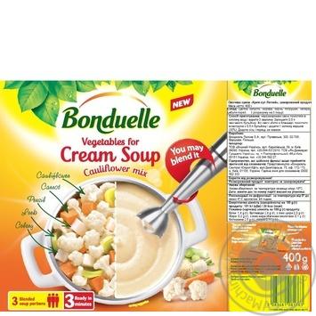 Овощи Bonduelle для крем супа Легкий 400г - купить, цены на Novus - фото 2