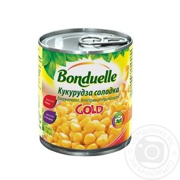 Кукуруза Bonduelle Gold сладкая 170г - купить, цены на Novus - фото 1