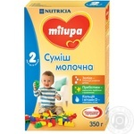Mix milk Milupa dry for children from 6 months 350g