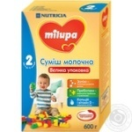 Milupa 2 for children from 6 months dry milk mix 600g