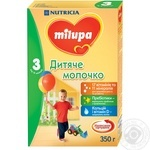 Mix milk Milupa dry for children from 12 months 350g