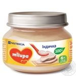 Milupa for children from 6 months with turkey puree 80g
