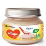 Milupa for children from 6 months with chicken puree 80g