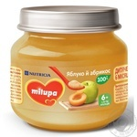 Пюре Milupa яблоко и абрикос 100г