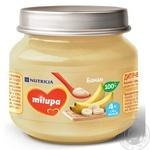Пюре Milupa банан 100г