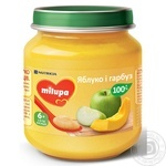Milupa for children from 6 months pumpkin and apple puree 125g
