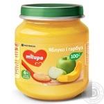 Пюре фруктовое Milupa Яблоко и тыква для детей от 6 месяцев 125г