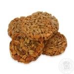 Печенье с зернами подсолнечника