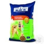 Корм сухий Club 4 Paws для дорослих собак середніх і великих порід 12кг