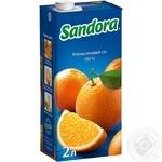 Сок Сандора апельсиновый 2000мл