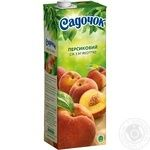Sadochok peach juice 1,45l