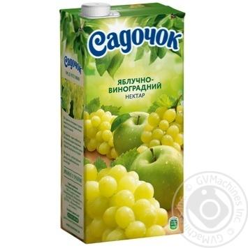 Скидка на Нектар Садочок яблочно-виноградный осветленный