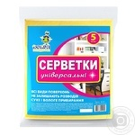 Napkins Dobra gospodarochka for cleaning 5pcs