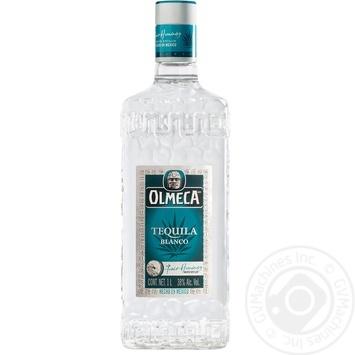 Текила Olmeca Blanco 38% 1л - купить, цены на МегаМаркет - фото 1