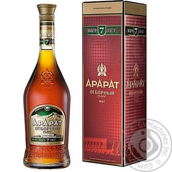 ARARAT Otbornyy 7YO Brandy 700ml gift box