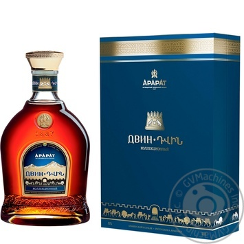 ARARAT Dvin 10YO Brandy 700ml gift box - buy, prices for Novus - image 1