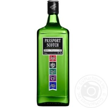 Виски Passport Scotch 40% 1л - купить, цены на Novus - фото 1