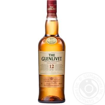 Віскі The Glenlivet Excellence 12 років 40% 0,7л - купити, ціни на Novus - фото 2