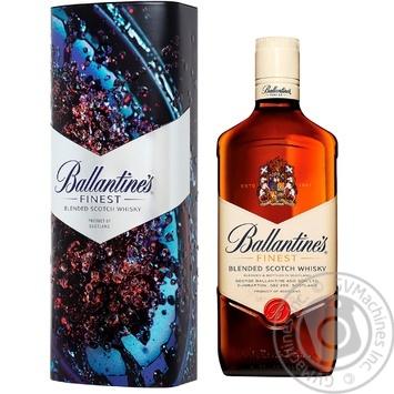 Виски Ballantine's Finest 40% 0,7л в подарочной металлической упаковке
