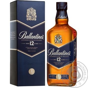 Ballantine's 12YO Whisky 700 ml gift box