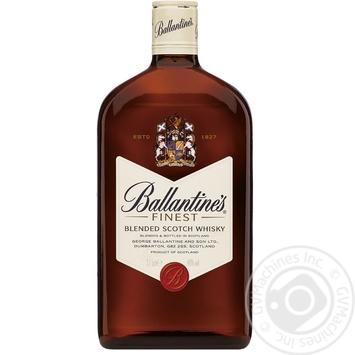 Віскі Ballantine's Finest 40% 0,375л
