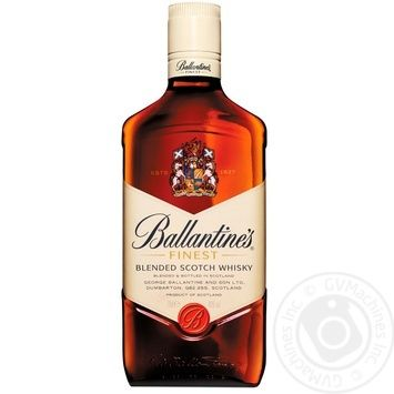 Ballantine's Finest Blended Scotch Wiskey 0,7l