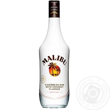 Лікер Malibu 21% 1л - купити, ціни на Фуршет - фото 1