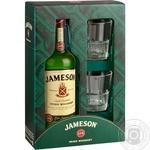 Виски Jameson 40% 0,7л + 2 бокала